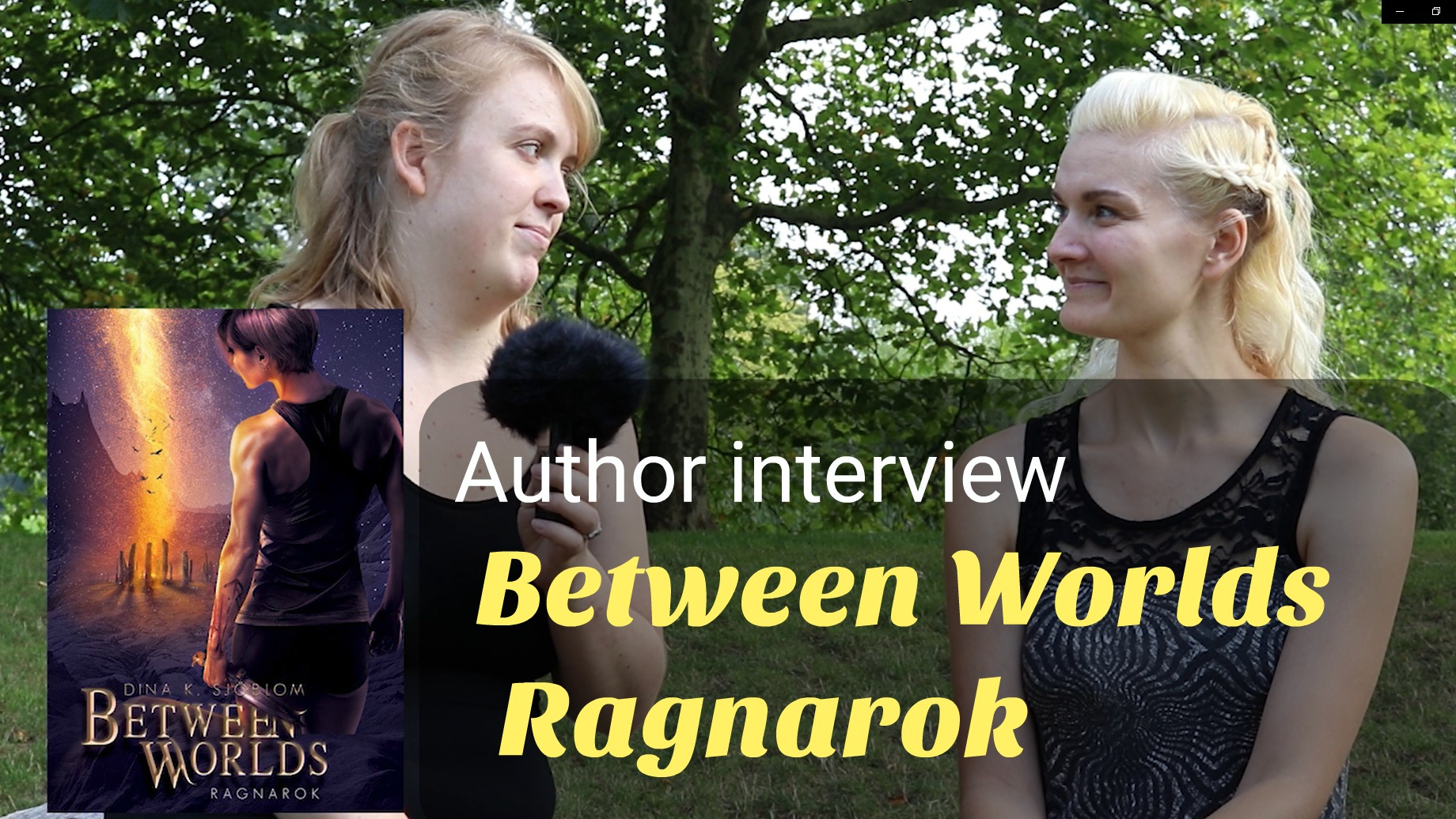 Interview with the Author of 'Between Wolds – Ragnarok'